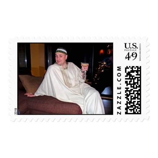Moroccan Fantasy Postage Stamps