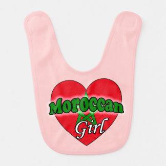 Moroccan Girl Bib