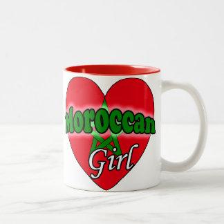 Moroccan Girl Two-Tone Coffee Mug