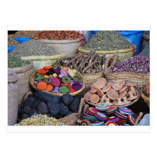 Moroccan Herbs and Spices Postcard