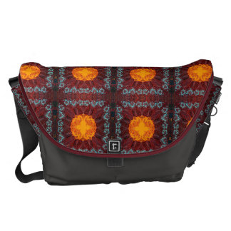 Moroccan Inspired Design Messenger Bag