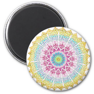 Moroccan Jewels 2 Inch Round Magnet