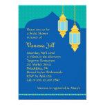 """Moroccan Lantern Bridal Shower Invitation 5"""" X 7"""" Invitation Card"""