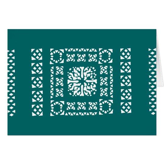 Moroccan Lantern Pattern Card