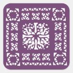 Moroccan Lantern Pattern Sticker