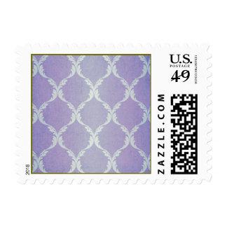 Moroccan lavender chic vintage pattern trendy fun postage