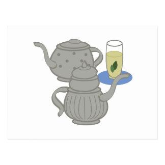 Moroccan Mint Tea Postcard