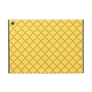 Moroccan mustard yellow tile design pattern chic iPad mini case
