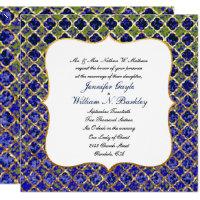 Moroccan Night Wedding Invitation