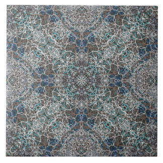 Moroccan Pattern Ceramic Tiles Zazzle