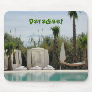 moroccan paradise mouse pad