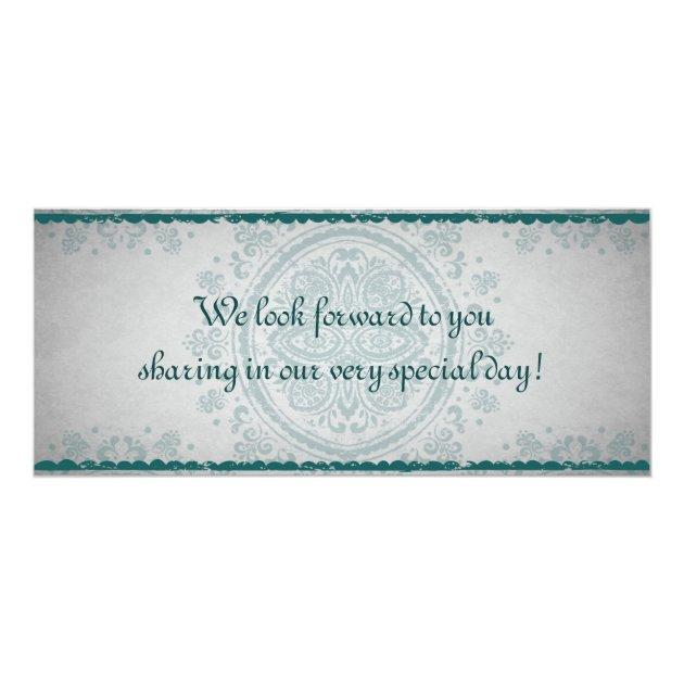 Moroccan Party Boarding Pass Wedding Invitation | Zazzle