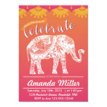 Moroccan Party - Indian Inspiration - India theme Card