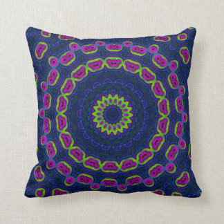 Moroccan Pattern Electric Throw Pillow