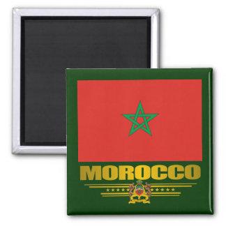 """""""Moroccan Pride"""" 2 Inch Square Magnet"""