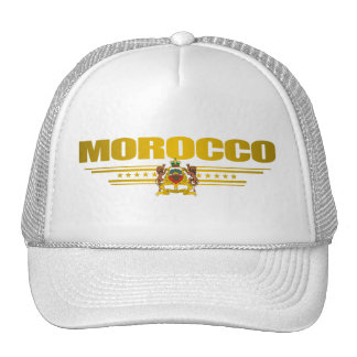 """Moroccan Pride"" Trucker Hats"