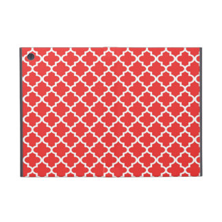 Moroccan red brick tile design pattern chic cases for iPad mini