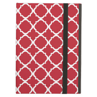Moroccan Red pattern Case For iPad Air