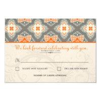 Moroccan RSVP Card 3.5&quot; X 5&quot; Invitation Card (<em>$2.45</em>)
