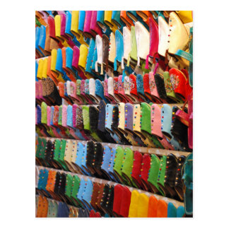 Moroccan Shoes Postcard