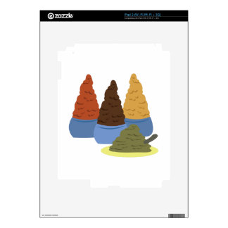 Moroccan Spices iPad 2 Decal
