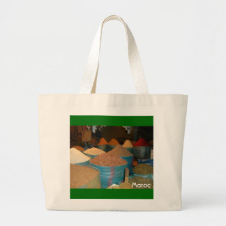 Moroccan Spices Large Tote Bag