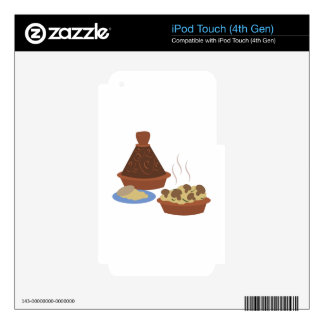 Moroccan Tagine iPod Touch 4G Decals