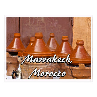 Moroccan Tagines Postcard