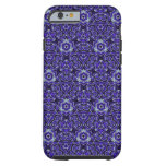 Moroccan Textile Pattern Blue iPhone 6 Case