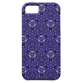 Moroccan Textile Pattern Blue iPhone SE/5/5s Case