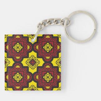 Moroccan Tile Keychain