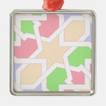 Moroccan tile of fantasy in colors pie