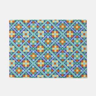 Moroccan tiles doormat