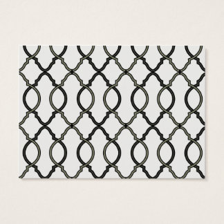 Moroccan Trellis Patter Business Card