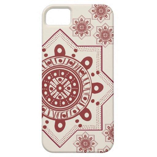 Moroccan Tribal Dot Pattern Phone Case