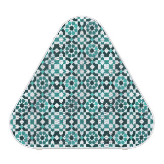 Moroccan Turquoise Pattern Bluetooth Speaker
