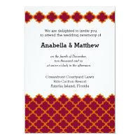 Moroccan wedding card (<em>$2.11</em>)