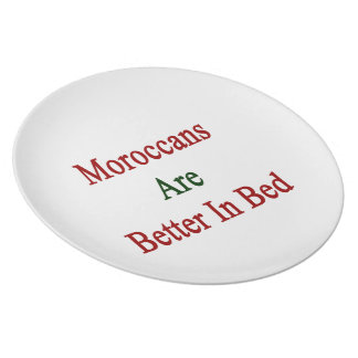 Moroccans Are Better In Bed Plate