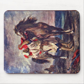 Moroccans In The Saddle Of His Horse Mousepad