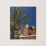 MOROCCO, Anti Atlas, TAFRAOUTE Area: ADAI, Red Jigsaw Puzzles