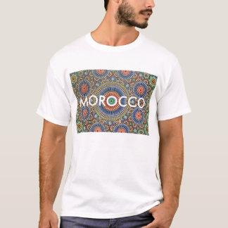 morocco arab mosaic islam religious pattern T-Shirt