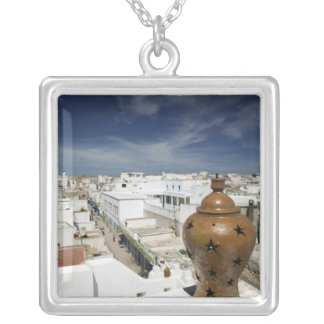 MOROCCO, Atlantic Coast, ESSAOUIRA: High Vantage Silver Plated Necklace