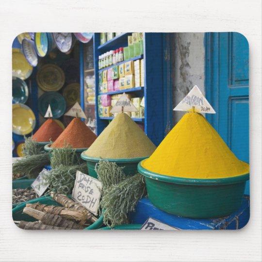 MOROCCO, Atlantic Coast, ESSAOUIRA: Spice Market Mouse Pad