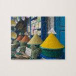 MOROCCO, Atlantic Coast, ESSAOUIRA: Spice Market Puzzles