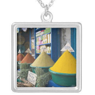 MOROCCO, Atlantic Coast, ESSAOUIRA: Spice Market Silver Plated Necklace