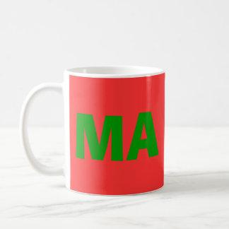 Morocco Bold Letter Mug