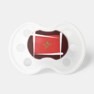 Morocco Brush Flag Pacifier