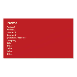 Morocco - Business Business Card
