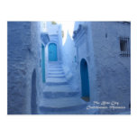 Morocco, Chefchaouen, The Blue City Postcard