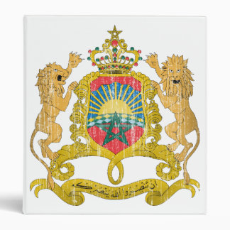 Morocco Coat Of Arms Binder